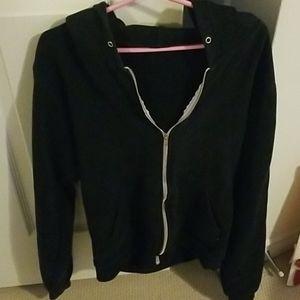 American Apparel fleece zip hoodie